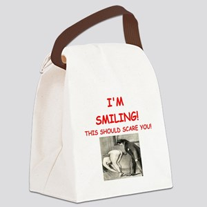 spanking joke Canvas Lunch Bag